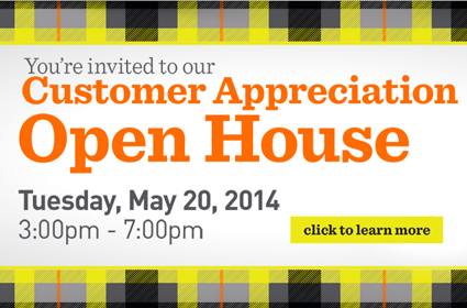 Customer Appreciation Open House