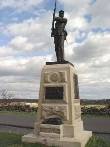 11th Pennsylvania Infantry Memorial, Gettysburg