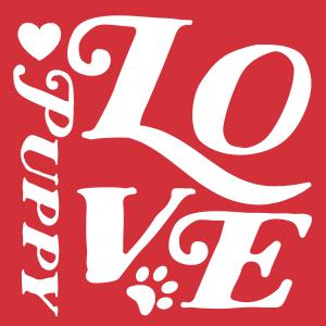 puppy love graphic