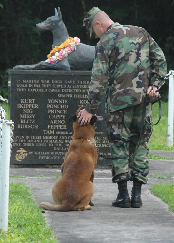 War Dogs Memorial