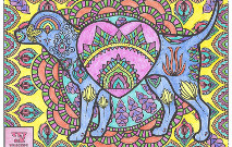 Mandala Love Dog Thumbnail